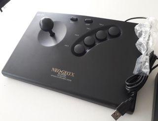 Mando Neo Geo X, PC o Raspberry