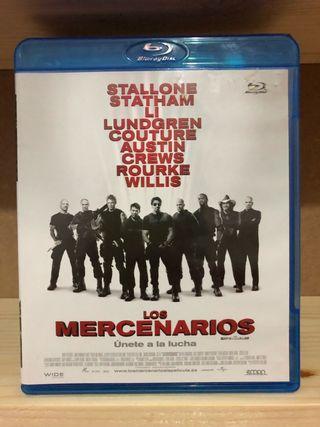 Los mercenarios blu-ray