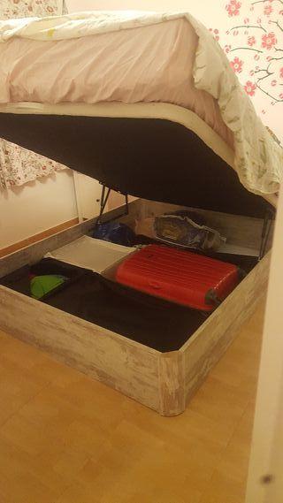 cama colchón y canapé