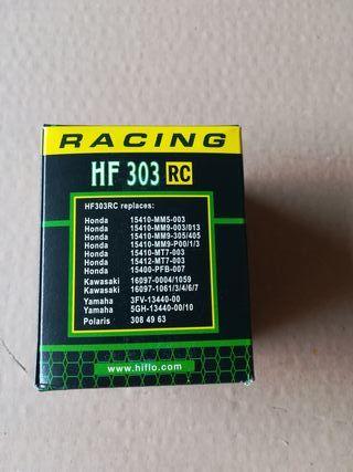 Filtro de aceite nuevo HF303RC