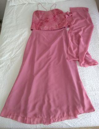 Conjunto corpiño y falda