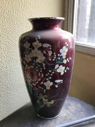 Jarrón porcelana vintage