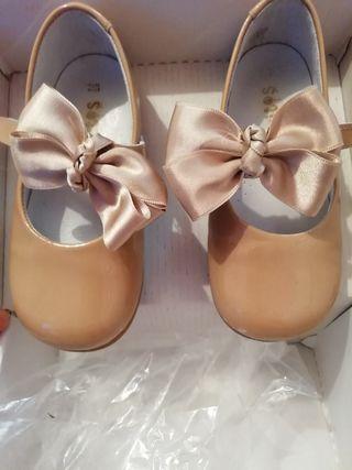 zapatos 23 camel
