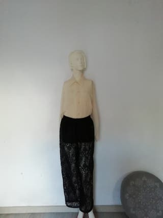 pantalon bordado