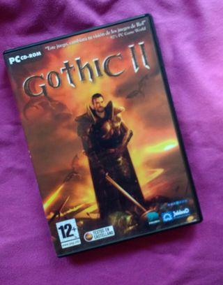 Videojuego pc Gothic 2 rol aventura