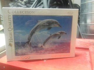 Puzzle 1000 piezas delfines