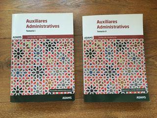 Temario Auxiliar Adm. Junta Andalucía.
