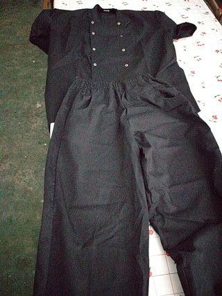 uniforme cocinero