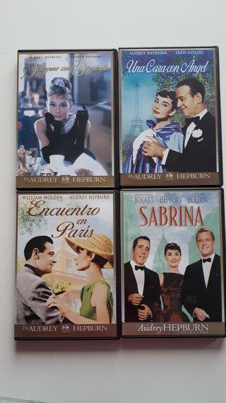 Pack DVDs Audrey Hepburn