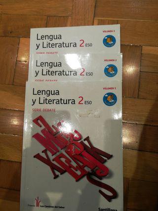 Libro Lengua y literatura. 2 ESO