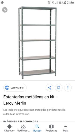 estantería metalicas