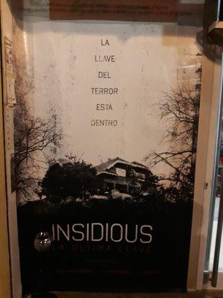 Cartel Original de Cine Insidious La Última Llave