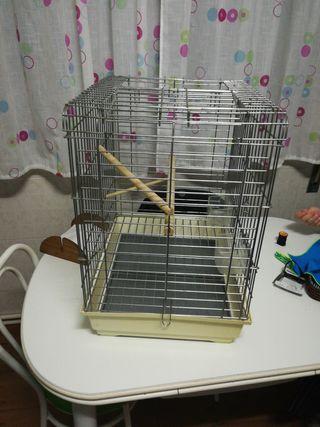 jaula para aves medianas grandes
