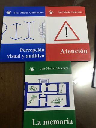 Libros PAM percepcion atencion memoria