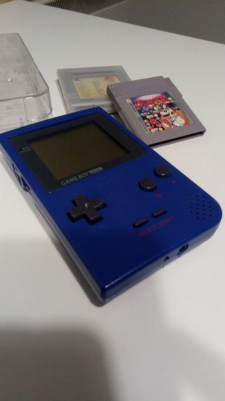 Gameboy Pocket azul