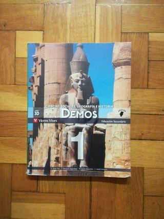 libro ciencias sociales, geografía e historia.1ESO