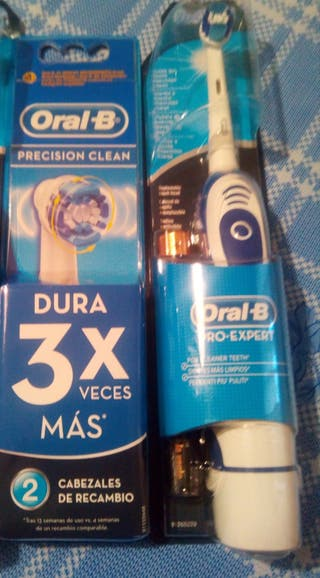 cepillo electrico oral B y recambios