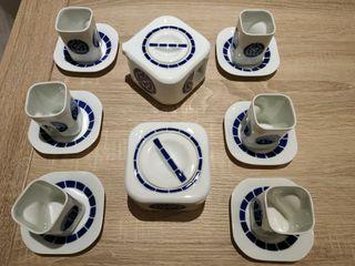 Juego de café Sargadelos de 6 unidades