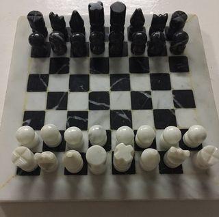 Chess Mármol Tallado
