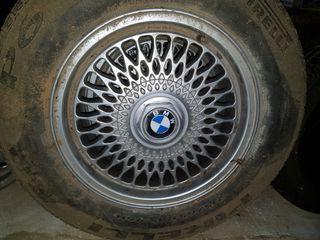 "4 Llantas BBS de BMW 5 tornillos 15"""