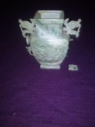 jarron de jade antiguo