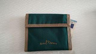 cartera billetera en cordura coronel tapioca
