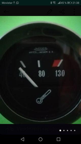 reloj JAEGER de temperatura en buen