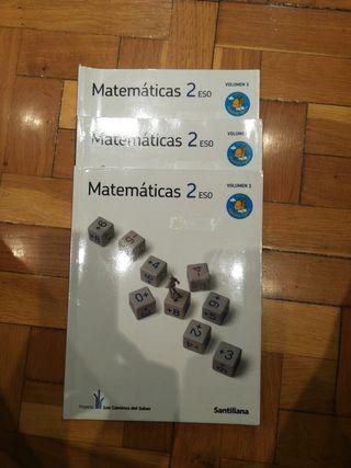 Libro matemáticas. 2 ESO