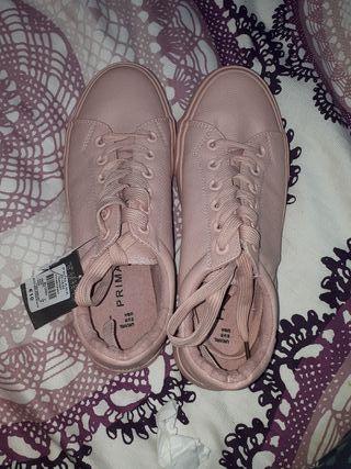 Zapatillas rosas