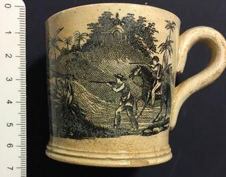 Pocillo o tacita cerámica de Cartagena