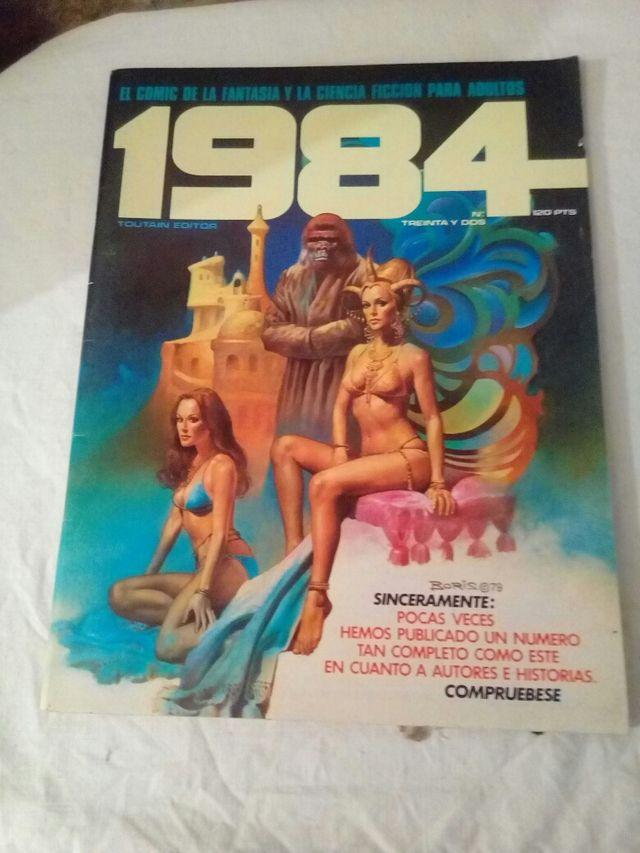 cómic 1984 número 32