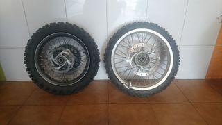 ruedas completas ktm 65