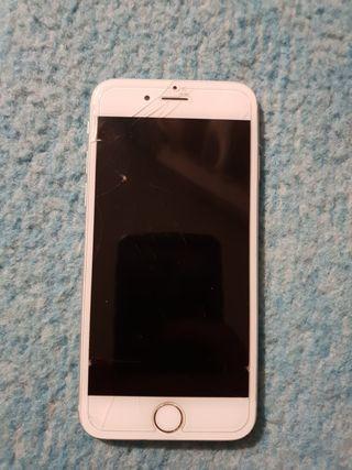 IPhone 6 gris.