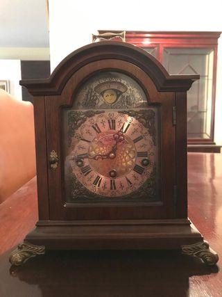 Reloj de mesa vintage coleccionismo Warmink