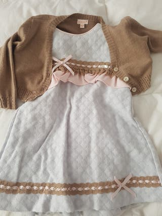 Conjunto vestido Miranda 24 meses
