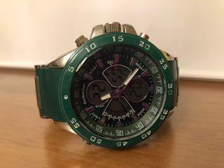 Reloj de hombre verde