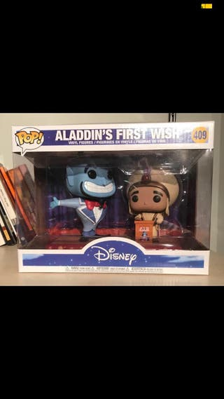 Funko pop Nueva Disney Aladdin's first wish