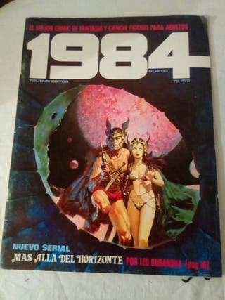 comic 1984 número 8