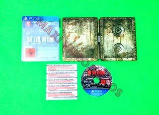 The Evil Within con Steelbook RARO / PS4