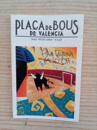Placa De Bous De Valencia - Fira Taurina Falles 97