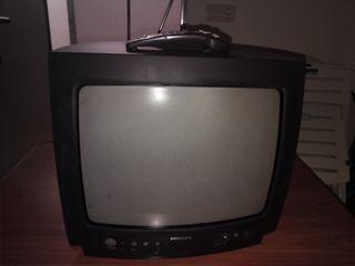 "televisor 14"" philips +soporte tv"
