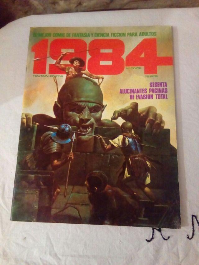 comic 1984 número 11