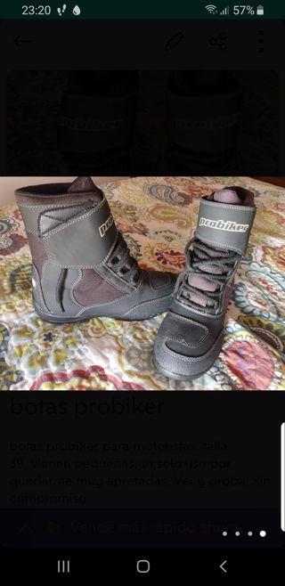botas probiker