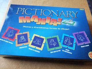 juego pictionary manía