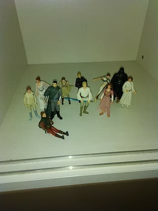 Pack Figitas star wars Familia Skywalker
