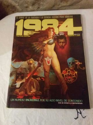 comic 1984 número 31