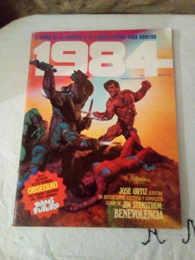 comic 1984 número 24