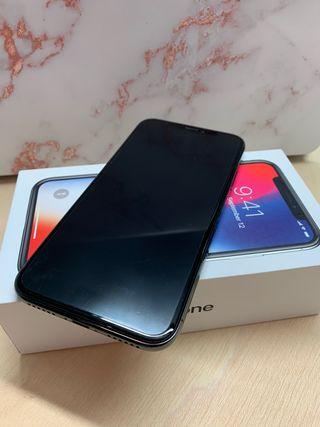 iPhone X de 256gb negro
