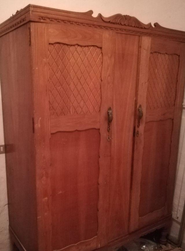 Armario madera antiguo de segunda mano por 170 en san - Armarios antiguos de segunda mano ...