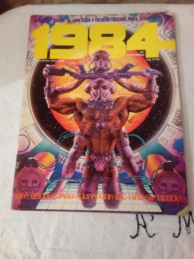 comic 1984 número 14